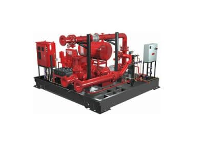 Diesel Fire pumps – DNF, HSF-HFPA 20 – GB